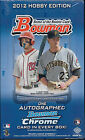 2012 BOWMAN BASEBALL FACTORY SEALED HOBBY BOX