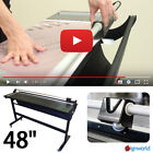 Rotary Trimmer 48 Heavy Duty Paper Photo Banner Laminates Cutter Metal Base