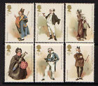 GREAT BRITAIN 2012 CHARLES DICKENS SET OF 6 UNMOUNTED MINT MNH