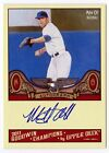Mike Olt 2011 Goodwin Champions Upper Deck On Card AUTOGRAPH Texas Rangers #A-MO