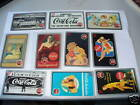 COCA-COLA COKE 1995 sprint phonecard $5 set of 10 RARE