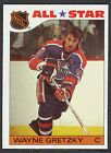 1985 86 TOPPS HOCKEY 2 WAYNE GRETZKY EDMONTON OILERS NM ALL STAR WITH FREE SHIP