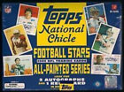 2009 TOPPS NATIONAL CHICLE FOOTBALL HOBBY BOX FACTORY SEALED