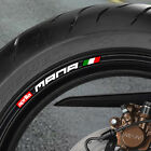 8 x APRILIA MANA WHEEL RIM STICKERS - 850 abs gt - B