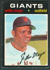 1971 TOPPS OPC O PEE CHEE BASEBALL 600 WILLIE MAYS EX-NM S F GIANTS FREE SHIP