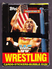 1987 Topps WWF WRESTLING featuring Wrestlemania III Box of Unopened Packs