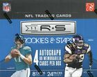 2011 Panini Rookies and & Stars Football Hobby Box - 4 Auto or Jerseys Per Box