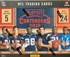 2010 Playoff Contenders Football Factory Sealed Hobby Box - 5 Autographs Per Box