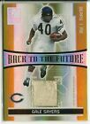 2006 Donruss Elite Back To The Future Gale Sayers & Jones Dual Jersey Card 299