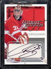2004-05 ITG ULTIMATE AUTOGRAPH CURTIS JOSEPH RED WINGS 135 AUTO SIGEND FRE SHIP