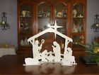 Indoor Table Top 24 Christmas Nativity Display