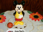 Vintage Disney Mickey Mouse Wind Up Toy Dribbling A Basketball