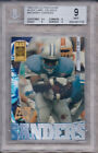 BARRY SANDERS 1995 COLLECTOR'S EDGE BLACK LABEL 22K GOLD #69 BGS 9