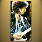 BOB DYLAN Signed Poster ART CANVAS PAINTING 36