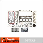 Fits 89 95 Suzuki Sidekick Geo Tracker 16L SOHC Full Gasket Set Bolts G16KC