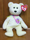 ty Beanie Babies Easter bear with tags light yellow embroidered egg 2005