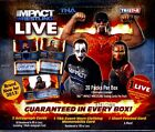 2013 Tristar TNA Impact Live Wresting Trading Cards Hobby Box Signed 20 Packs
