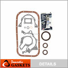 Fits 89 95 Geo Tracker Suzuki Sidekick 16L SOHC Lower Gasket Set G16B G16K