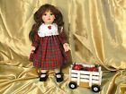 Apple Dumpling Porcelain Doll by Ann Timmerman for Georgetown Collection w/COA