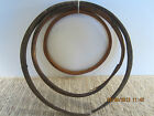 OLD, MARITIME SALVAGED BENT WOODEN MAST RINGS
