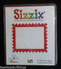 Sizzix Frame ZigZag 38 0164 Die Scrapbooking New in Box FREE US Ship