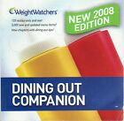 Weight Watchers Dining Out Companion New 2008 Edition