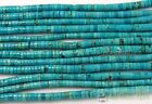Natural Turquoise Gemstone Heishi Beads Spacer 3mm 4mm 6mm 8mm 10mm 12mm 16