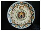 Wedgwood Queensware Calendar Plate Scarab Sun God Egypt Falcon Lotus Flowers
