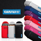 Caseflex Mobile Accessories For Various HTC Phones Neoprene Pouch Case Cover UK