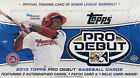 2013 Topps Pro Debut Baseball Hobby Box MLB Tradings Cards Relic Autopgraph