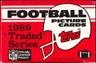 1989 TOPPS TRADED FOOTBALL COMPLETE SET 1-132 Barry Sanders Deion Aikman Thomas