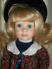 Tussini Collection porcelain doll, Danielle, 1989 mint in box