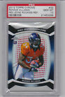 2012 Topps Chrome #33 RONNIE HILLMAN ROOKIE RED ZONE REFRACTOR--PSA GEM MINT 10