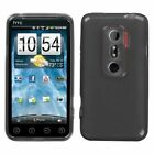 For Sprint HTC EVO 3D Hard Candy Case Snap on Phone Cover Smoke