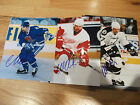 WENDEL CLARK TAMPA BAY LIGHTNING AUTOGRAPHED 8 X 10 PHOTO TORONTO MAPLE LEAFS
