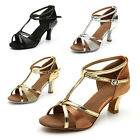 Brand New Womens Ballroom Latin Tango Dance Shoes heeled Salsa 4 Colors 255 S