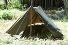 AUSTRIAN ARMY SHELTER HALF W/POLES & STAKES 2 PACK