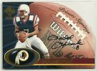 2000 Pacific Private Stock Signings Todd Husak Auto Autograph Card - Redskins