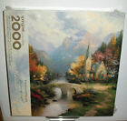 SPRINGBOK THOMAS KINKADE 2000 PC JIGSAW PUZZLE MOUNTAIN CHAPEL