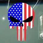USA Flag Punisher Design Stickers Car Vinyl Decals JDM