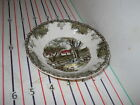 JOHNSON BROTHERS BROS FRIENDLY VILLAGE FRUIT BOWL WALL ENGLAND