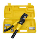 10 Ton Hydraulic Crimper Crimping Tool w 9 Dies Wire Battery Cable Lug Terminal