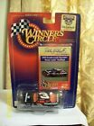 1998 HASBRO WINNERS CIRCLE DALE EARNHARDT # 3 CAR AND CARD SET