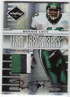 RONNIE LOTT AUTO PATCH TEAM TRADEMARKS SAN FRAN SF NY NINERS JETS SUPER RARE 25
