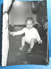 Baby Sitting On A Chamber Pot Photo Picture Dated 1966 Foreign Neubrandenburg