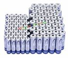 50AA+50AAA 1000mAh 3000mAh 1.2V NI-MH rechargeable battery CELL/RC MP3 2A 3A BTY