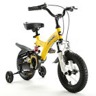 ROYAL BABY DUAL SUSPENSIONS KIDS BIKES IN RED AND YELLOW SIZE 12 14 16