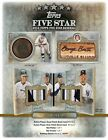 2013 Topps Five Star Baseball Factory Sealed Hobby Box -At Least 4 Autos Per Box
