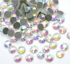 1440pcs Hotfix Heat Iron On Rhinestones Seed Beads SS10 Clear Crystal AB 3mm
