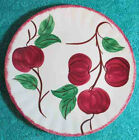 VINTAGE BLUE RIDGE POTTERY/SOUTHERN POTTERIES - CRAB APPLE - SALAD PLATE(s)